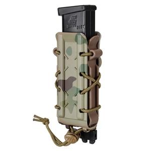 Image 3 - TMC Mag etui 5.56mm 7.62mm karabin magazynek etui Molle Tactical Airsoft 9mm uchwyt pistoletu TMC Poly Carrier polowanie polimer