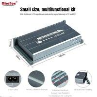 Mirabox Мощность линии HDMI удлинитель ИК H.264 Full HD 1080 P высокое качество изображения 300 м приемник передатчик Беспроводной HDMI Extender ИК