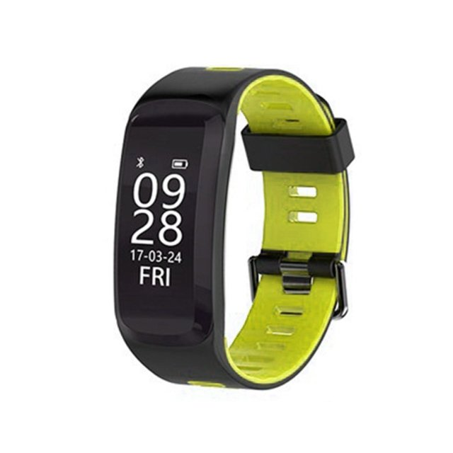 IP68 Waterproof F4 Bluetooth Smart Wristband Blood Oxygen Pressure HeartRate Mon