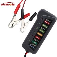 جهاز اختبار بطارية السيارة ، 12 فولت ، 24 فولت ، أداة تشخيص السيارة ، بطارية الدراجة النارية