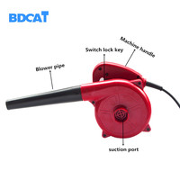 BDCAT 500W fan ventilation Electric Hand Blower for Cleaning Computer Multifunction Power Computer Dust Cleaning Machines