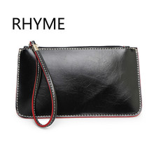 Rhyme Women Handbags  Lady PU Leather  Day Clutch 5 Color Available Wedding Party Evening Bag Handmade Day Clutch Bag