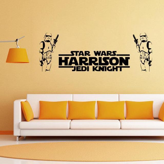 L14 Star Wars Harrison Jedi Knight Wall sticker Art Removable PVC ...