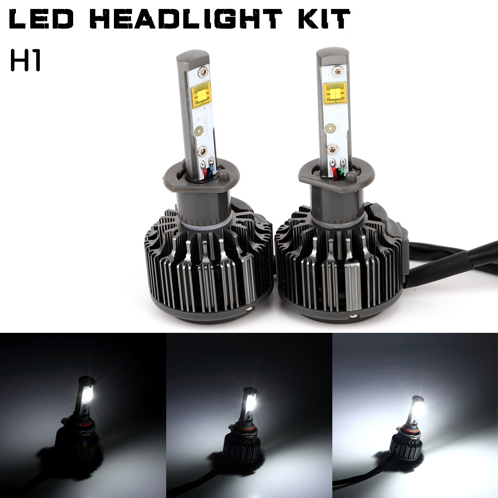 K7 Car LED Light Headlight For H1 H4 H7 H8/H9/H119005 9006 Vehicle Auto Bulb Kit 6000K White DXY88 дефлектор auto h k gt 36964