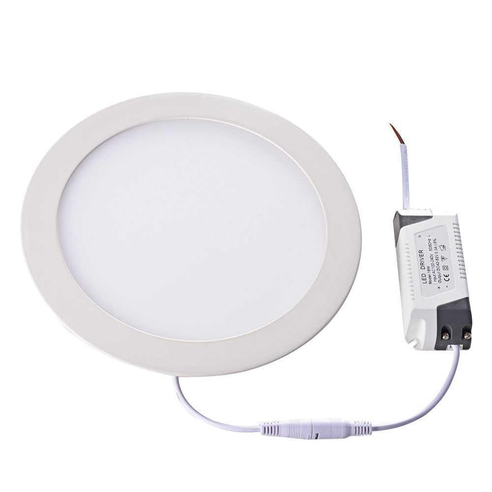 LAIMAIK lampe de plafond à Surface en aluminium, plafonnier de panneaux à AC85-265 3W 6W 9W 12W 15W 18W