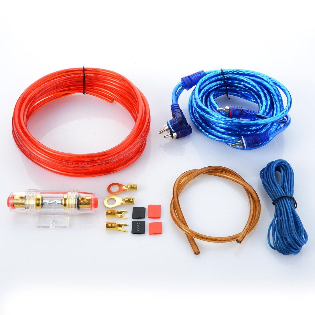 Car Audio Wire RCA font b Amplifier b font font b Subwoofer b font Cable Speaker