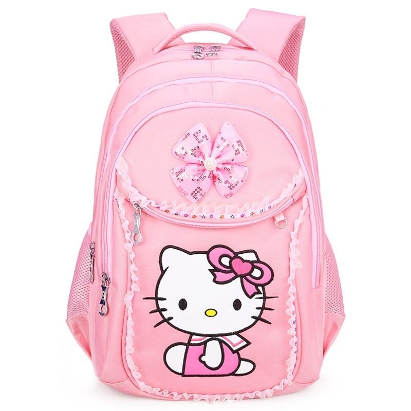 Dropwow FZMBAI Hello Kitty School Backpacks for Girls Kids Satchel ... 6c882b22e4099
