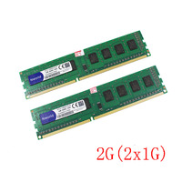 Wholesale DDR3 2GB 2x1gb 1333MHz PC10600 240 Pin Desktop Memory RAM 1G Compatible With All Motherboards