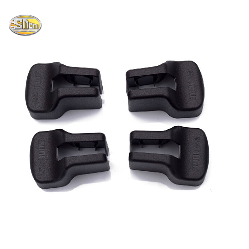 SNCN 4pcs/lot Door Check Cover For Ford Fusion Mondeo 2013-2016 Door Stopper protection cover Anti-rust Anti-corrosion