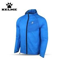 KELME Top Quality Survetement Football Waterproof Jackets Soccer Uniform Athletics Jogging Training Soccer Champions Windcoat 28