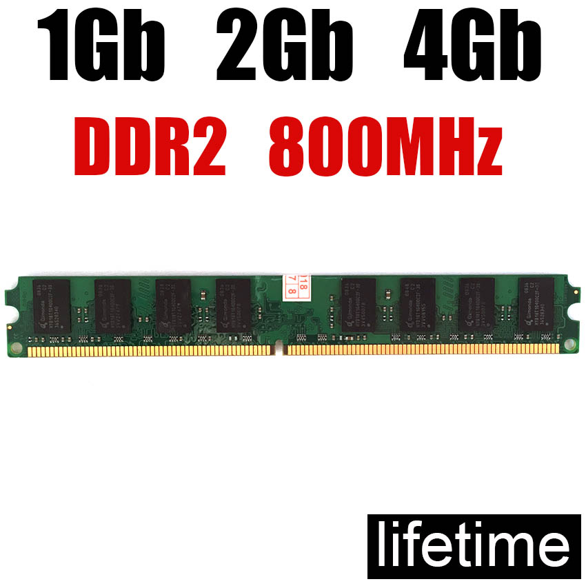 Memory RAM DDR2 800 4Gb 2Gb 1Gb 8Gb DDR 2 8 Gb / For PC Memoria RAM 4 Gb Ddr2 667MHz 8G 4G 2G 1G 800MHZ ( For Intel & For Amd )
