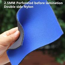 Color fabric 2mm neoprene fabric both sides coated polyester T cloth laminated rubber fabric for Sports gloves swimsuit diving