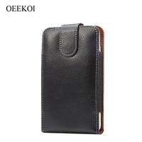 Genuine Leather Belt Clip Lichee Pattern Vertical Pouch Cover Case For Sony Xperia E1 Xperia M
