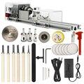 Токарный станок OPHIR KD020W, миниатюрный инструмент «сделай сам» для деревообработки, токарный станок для дерева, шлифовки, полировки бусин, наб...