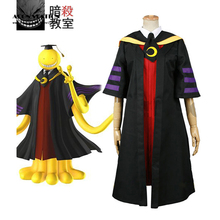 2017 Free Shipping Assassination Classroom Class 3-E Teachers Koro-sensei adult costume Cosplay Costume
