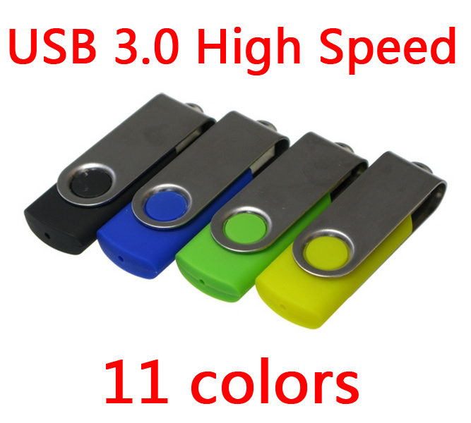 Cheap Usb 3.0 Swivel Metal Usb Flash Drive 64GB Pen Drive 32GB Pendrive 16GB 8GB Gift Memory Stick Disk On Key 128GB 1TB 2TB
