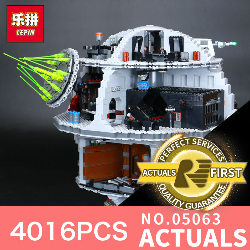 Star 4016Pcs Wars Lepin 05063 the Death UCS Star Building Block Bricks Toys Kits LegoINGlys 75159 for Children Holiday gifts