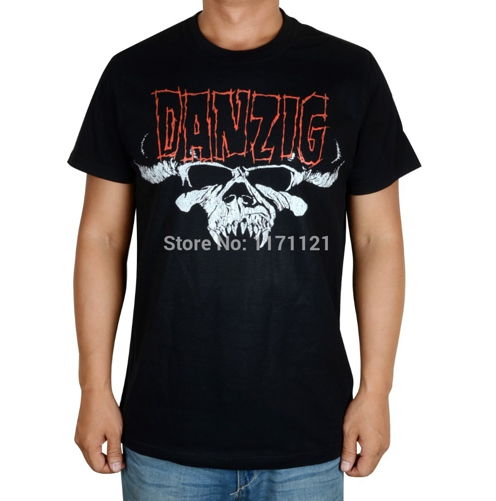 Design your t shirt cheap - Free Shipping Mens Danzig 20 Years 2 Sided Licensed Concert Shirt All Size S