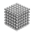 216pcs 5mm Silver Neodymium Magnetic Balls Neo Cube Magic Cube Puzzle Magnetic Balls NeoKub of magnetic beads without metal box