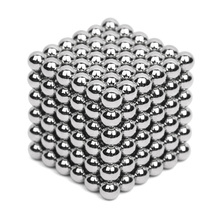 216pcs 5mm Silver Neodymium Magnetic Balls Neo Cube Magic Cube Puzzle Magnetic Balls NeoKub of magnetic