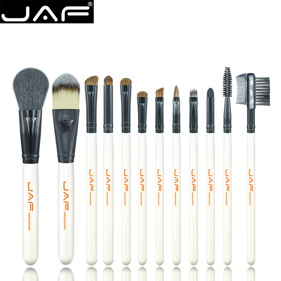 JAF Prime 12pcs  Make up tool Brush Set Cosmetic Makeup Brush Tool Kit for Starters J1201A storyfun for starters mov and flyers2ed flyers2 sb