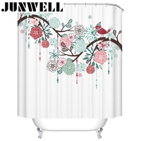 100 Polyester Waterproof Fabric Shower Curtains Printing Home Products Washable Bathroom CUSTOMERIZE IMAGE ACCEPTABLE