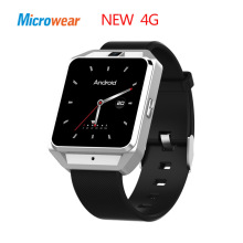 Microwear H5 4G Smart Watch Phone 1.54 Inch MTK6737 Quad Core GPS WiFi Heart Rate / Sleep Monitor Sedentary Reminder Video Call