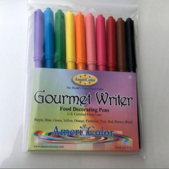 American imports Americolor color food decorating pens sugar cake ...