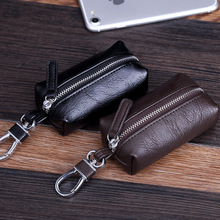 Genuine Leather Key Wallet Men & Women Car Bag Multi Function Case Fashion Ladies Housekeeper