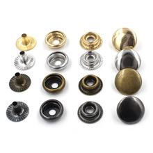 Фотография 50 sets per pack.Button.Metal snap rivet.Clothing & Accessories. Sewing repair.Metal buttons. Metal buckle combination.