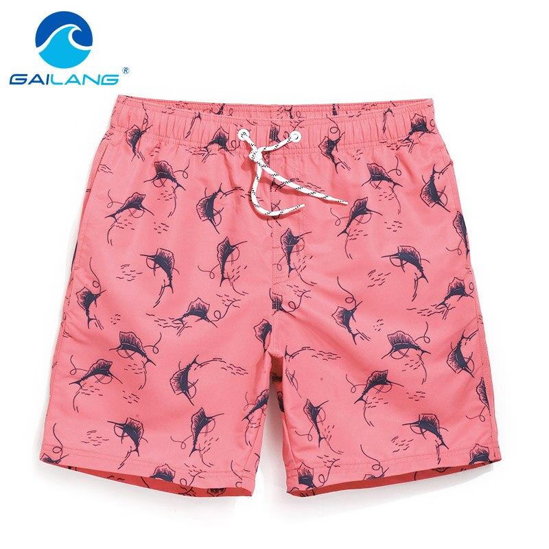Gailang Brand Mens Casual Beach   Shorts     Board   Trunks Man Jogger Bermduas   Short   Bottoms Quick Dry Men Boxer Swimwear Swimsuits