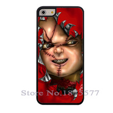Novelty Design Chucky Doll Case for iPhone 4 4S 5 5S 5C 6 6S Plus For Samsung S3 S4 S5 Mini S6 S7 edge Note 2 3 4 A3 A5 A7 2015