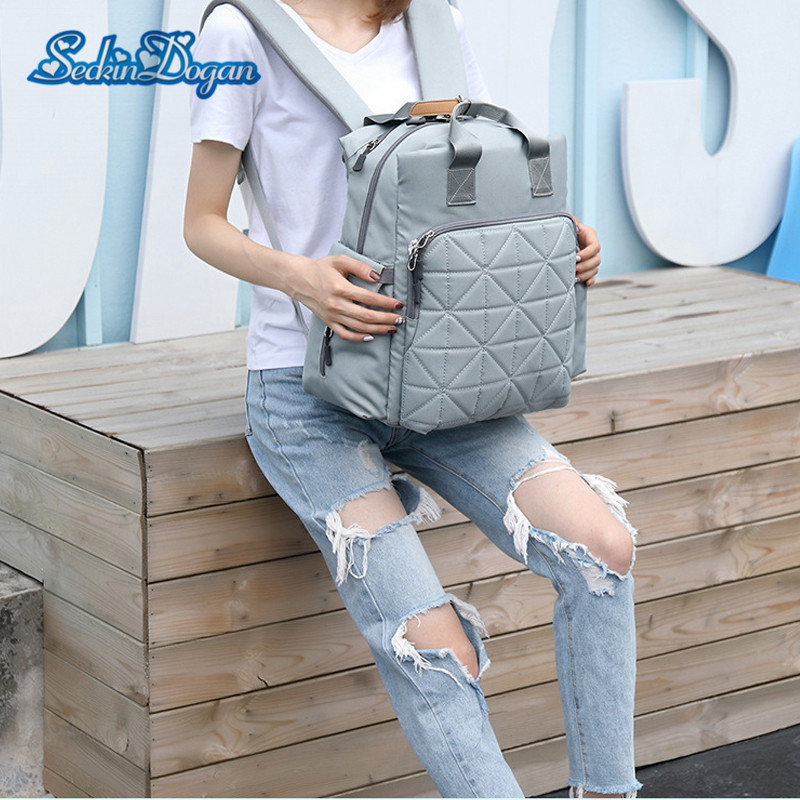 SeckinDogan Baby Diaper Bag Fashion Travel Baby Nappy Backpack Large Capacity Baby Bags for Mom Waterproof Backpacks infant CareSeckinDogan Baby Diaper Bag Fashion Travel Baby Nappy Backpack Large Capacity Baby Bags for Mom Waterproof Backpacks infant Care