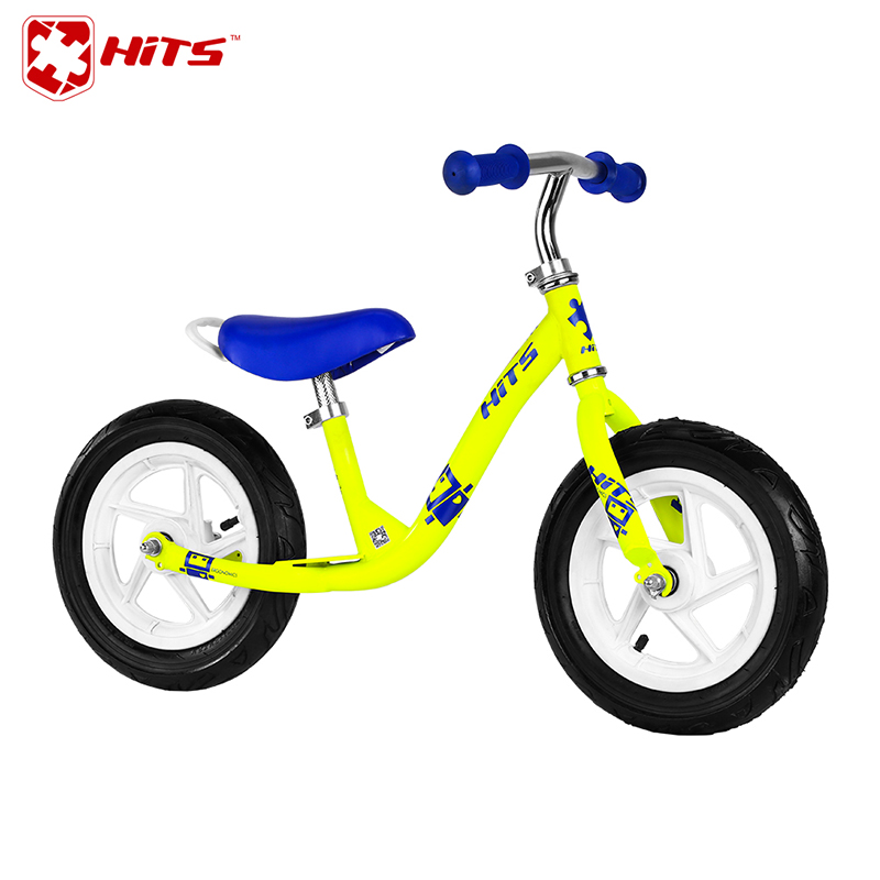 HITS Children Cycling Slide Bike No Pedal Balance Bicycle Fit For 2-6 Years Old Children Entertainment Fitness 4 Colors Choose