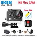 Действий камеры deportiva Оригинал ЭКЕН H8 плюс дистанционного Ultra HD 4 К WiFi 1080 P кадров в секунду Ambarella A12S75 спорт перейти водонепроницаемая камера