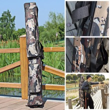 Sougayilang Portable Fishing Rod Bag 80/120cm Large Capacity Multi-Purpose Outdoor Bag For Fishing Rods Carp Fishing Bag Tackle