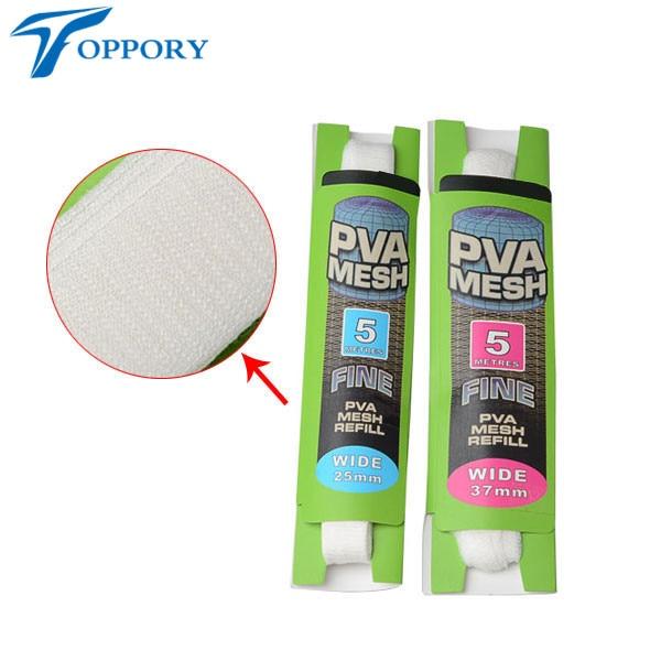 Topproy 4 paquetes / lote Malla de PVA de 5 M 25 mm 37 mm para carpas - Pescando - foto 5