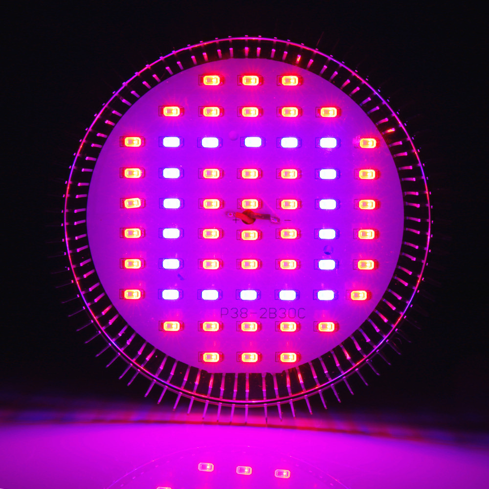 SMD LEDs Grow Light E27 AC85-265V Full Spectrum Indoor Hydroponics Plant Grow Light Superior Yield Higher Quality Flowers