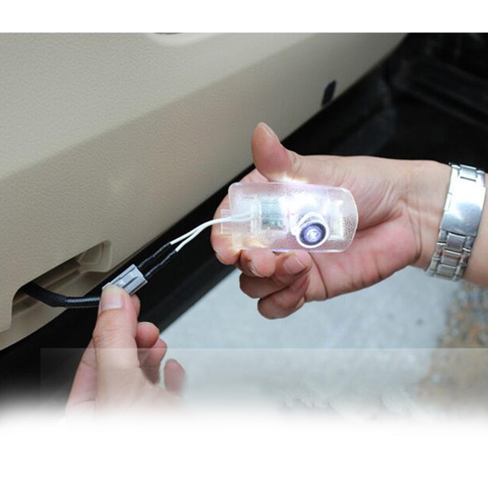 자동차 문 환영 레이저 프로젝터 로고 문 유령 - 자동차 조명 - 사진 2