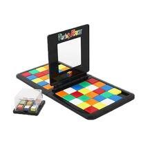 Rubiks гоночная доска игра родитель-ребенок слайд двойная игра куб головоломка забавная семейная вечерние Волшебные игрушечные кубики Пазлы для детей взрослых