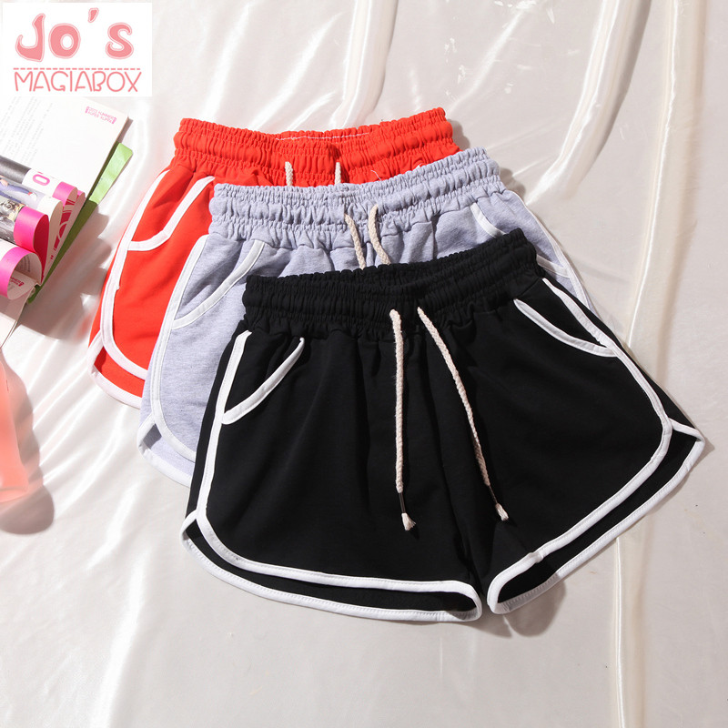 New Women Shorts Casual Cotton Plus Size 3XL Solid Lace Drawstring AA Style Linen Short DK602