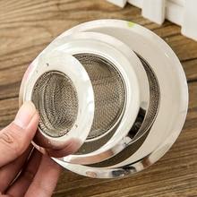 New Home KITCHEN SINK DRAIN STRAINER Stainless Steel Mesh Food Filter Catcher