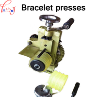 Manual multi purpose ring/earring press round machine bracelet/ring/earrings jewelry pressure ring making equipment 1pc