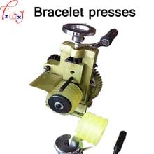 Manual multi-purpose ring/earring press round machine bracelet/ring/earrings jewelry pressure ring making equipment 1pc