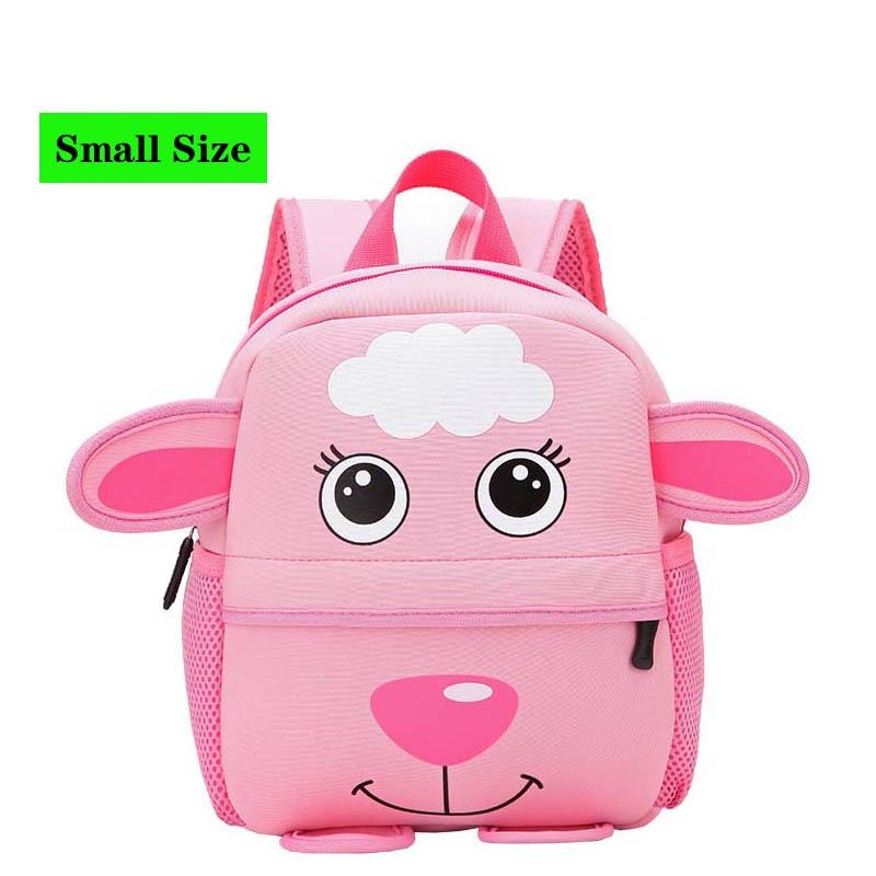 Christmas 3D Cartoon Dog Children Backpacks Kindergarten Schoolbag Animal Kids Backpack Children School Bags Girls Boys Backpack