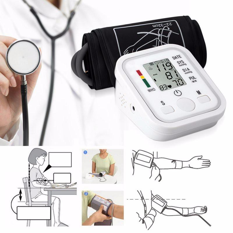 Upper arm blood pressure monitor blood pressure machine measuring blood pressure cuff blood pressure monitor arm blood pressure