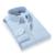 Camisa de Los Hombres de negocios Camisas de Vestir de Manga Larga de Algodón A Cuadros de Estilo Clásico que No Necesita Planchado Social Formal Marca Ropa Chemise Homme X135