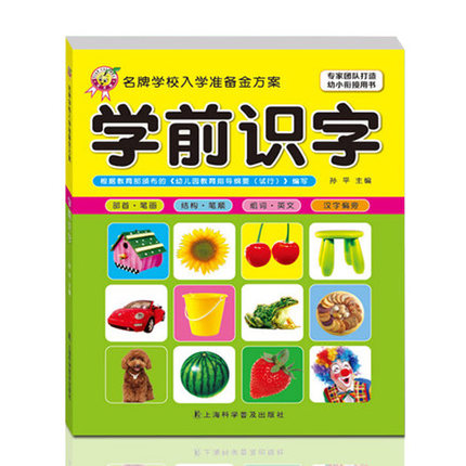 Preschool Literacy Book / Learn To Write Chinese Characters Introduction Books / Kids Children Enlightenment Education Books