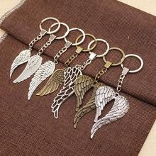 WYSIWYG Mix Wings Key Chain Charms For Diy Handmade Gifts Keychain Flying Wing Jewelry