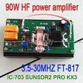 2016 90 W HF Amplificador De Potência Para Rádio Amador QRP PÉ-817 KX3 IC-703 transceptor PROFISSIONAL